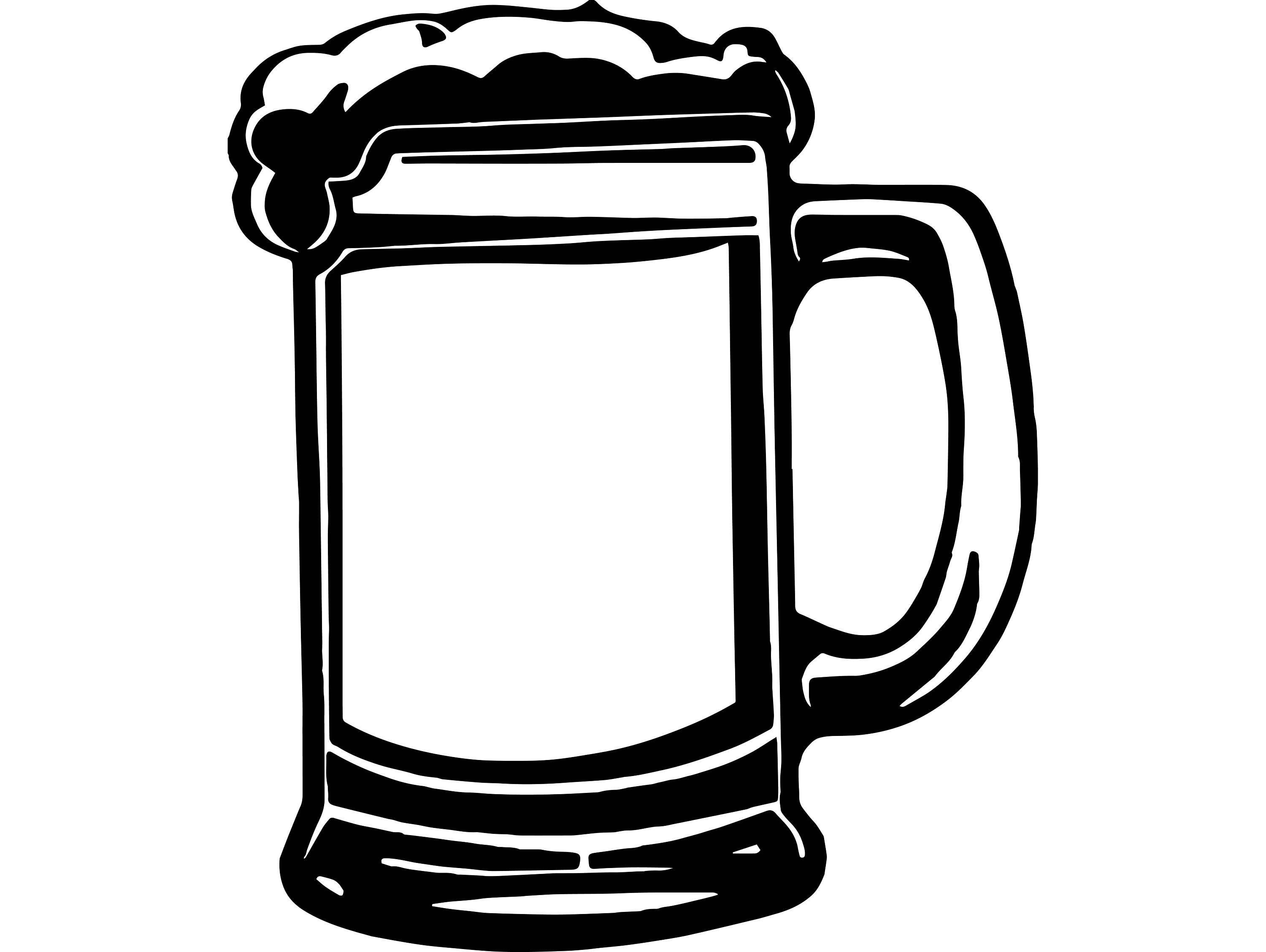1114af961 Image result for beer mug svg | beer | Beer, Mugs, Silhouette cameo