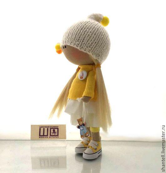 Muñecas De Colección: hechos a mano.  Dusenka.  'Lana pulpo'.  Tienda Feria Maestros en línea.  Muñeca, muñeca hecha a mano