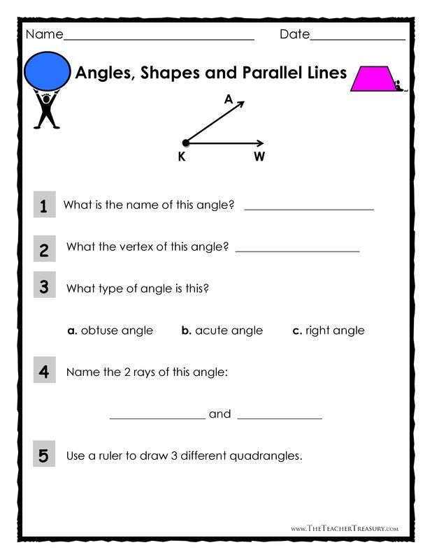 FREE Download - Angles, Shapes and Parallel Lines II | * ~ Memorable ...