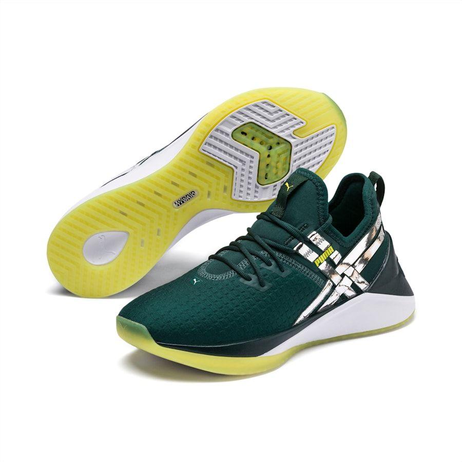 chaussure femme puma vert