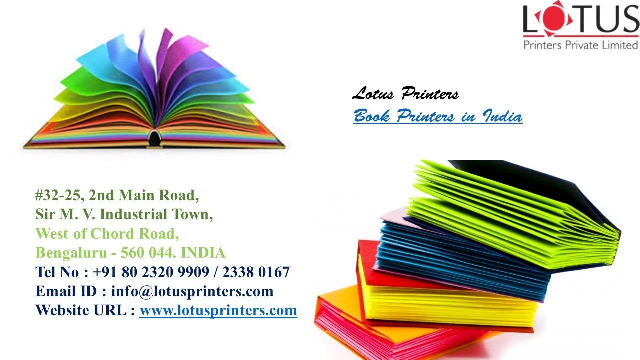 lotus printers is one of the best book printers in bangalore india