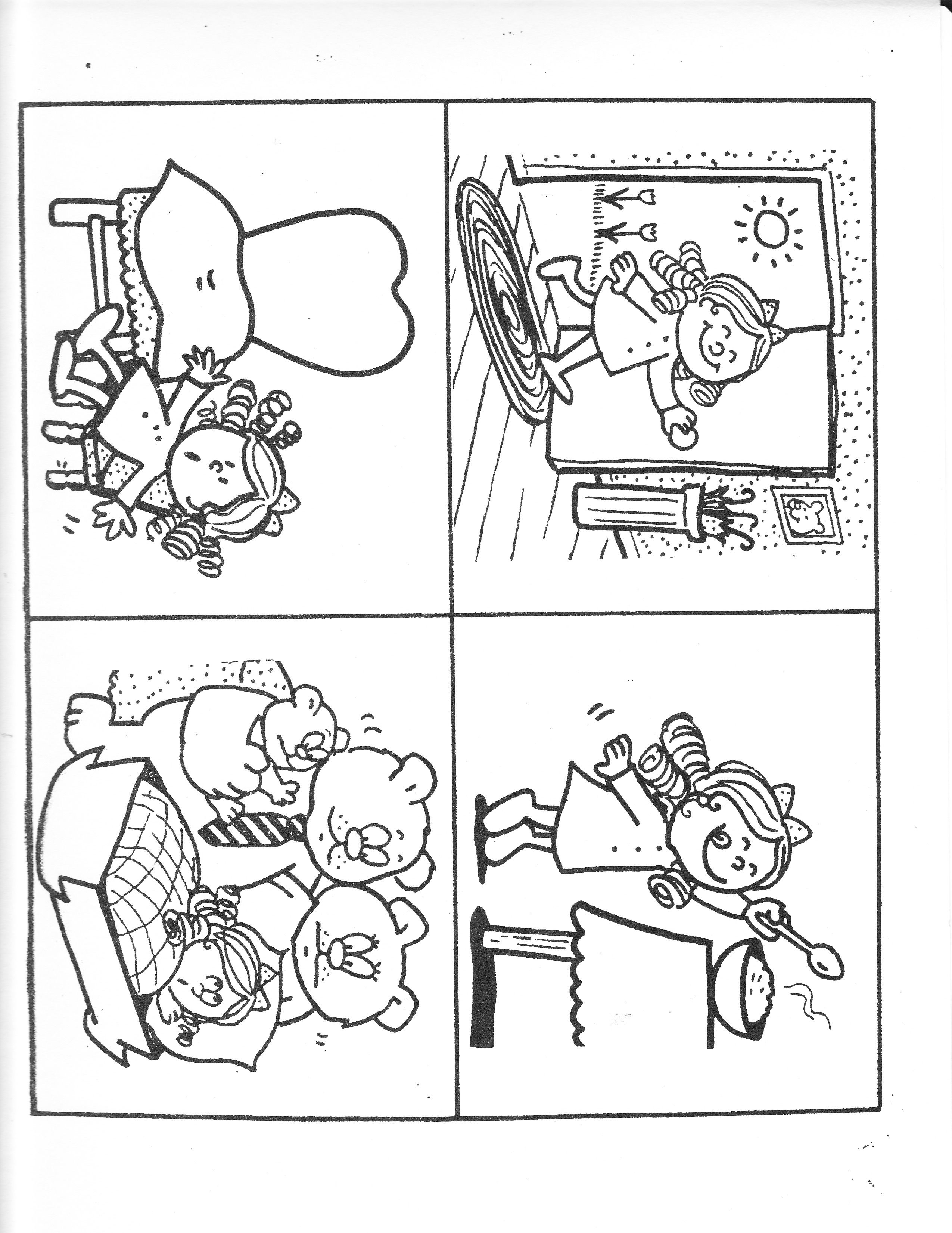 Sequence Of Events Fairy Tales Preschool