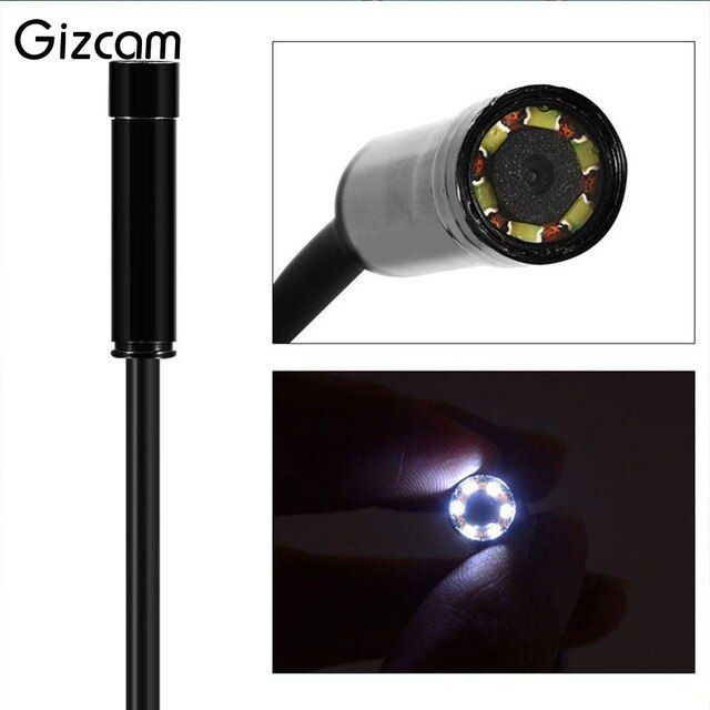 Gizcam 3.5M 7MM IP67 Android Endoscope Inspection