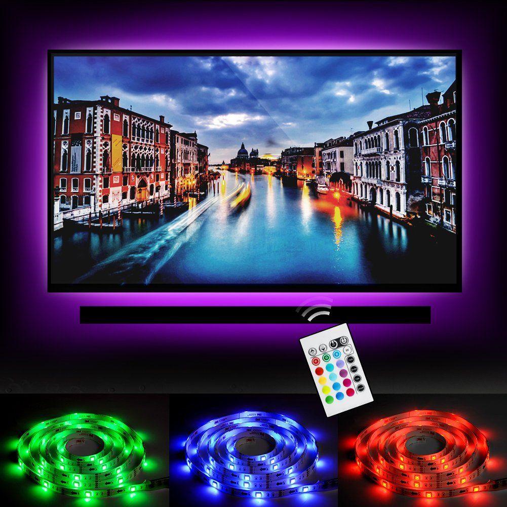 Emotionlite Led Tv Hintergrundbeleuchtung Led Streifen Licht Stromversorgung Uber Usb Multi Color Rgb Tape Farb Hintergrundbeleuchtung Led Streifen Beleuchtung