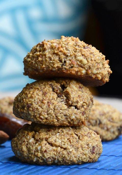 Vegan Date Almond Cookies