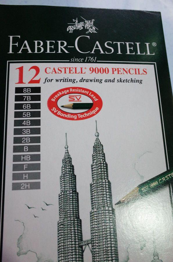 faber castell 9000 art set 12x graphite sketch pencils