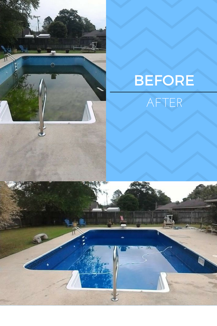Pin by Swimming Pools Of Tupelo on Before&After | Swimming ...