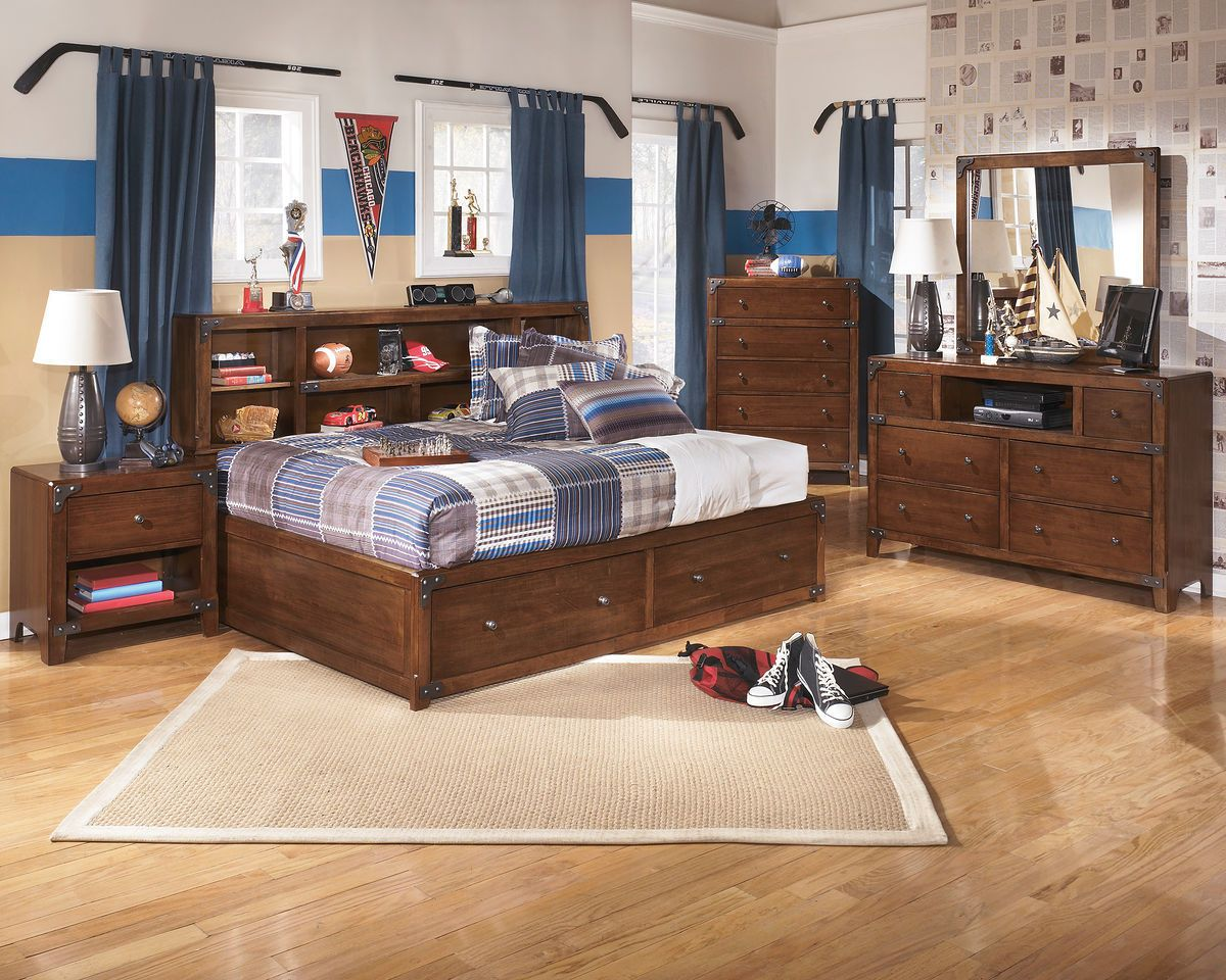 Delburne 5 Pc. Full Bedroom Collection sold at Hilton ...