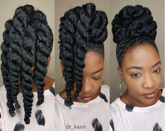 20 Beautiful Natural Hair Updos Trending This Year Natural