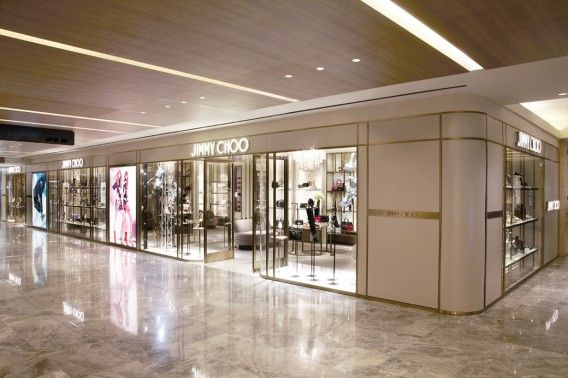 Jimmy Choo store Singapore at Paragon