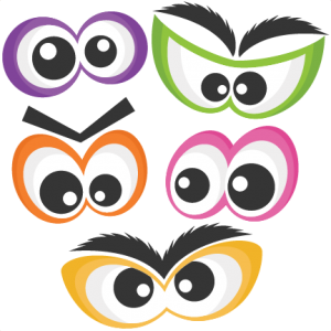 halloween spooky eye set svg scrapbook cut file cute clipart files rh pinterest com halloween eyes clip art Scary Eyes in the Dark