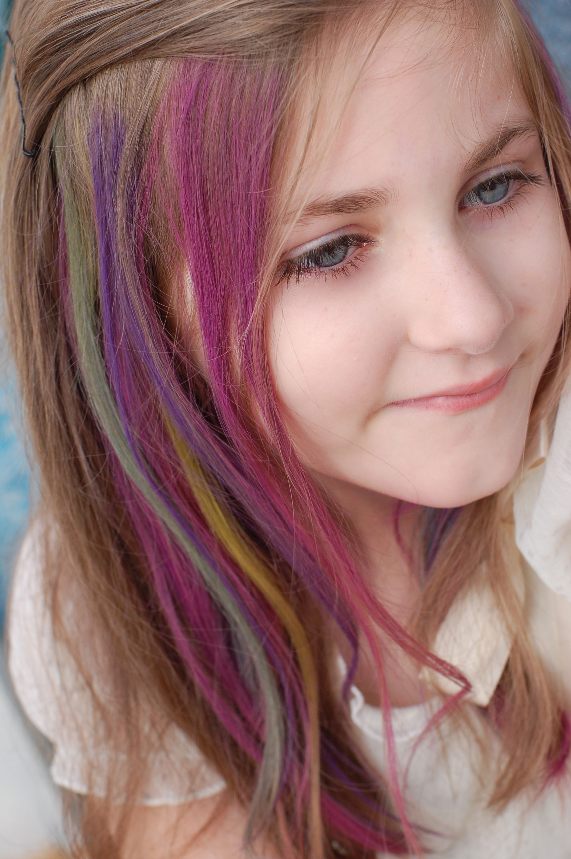Types Of Hair Color Temporary Hair Color Hair Coloring And Girls