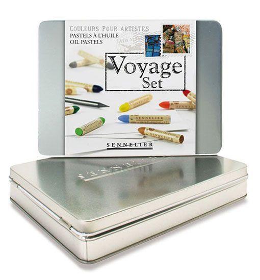 Voyage Set - Sennelier Oil Pastel Sets. Includes 12 x oil ...