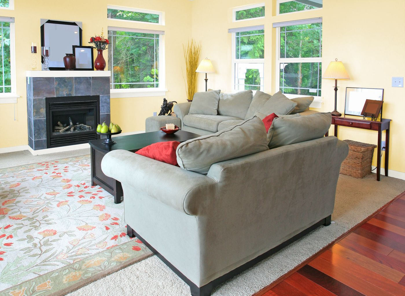 Living Room in Boston Cream | Living room, Room, Home decor