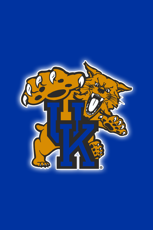 Get A Set Of 12 Officially Ncaa Licensed Kentucky Wildcats Iphone Wallpaper Kentucky Wildcats Basketball Wallpaper Kentucky Wildcats Football Kentucky Football