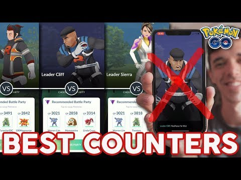 137 How To Beat All Team Go Rocket Leaders Pokemon Go Youtube Pokemon Go Teams Leaders Pokemon Go Pokemon