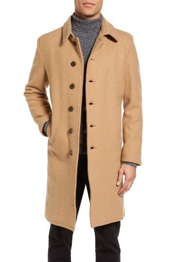 05dfd3af2312 Schott NYC Wool Blend Officer s Coat