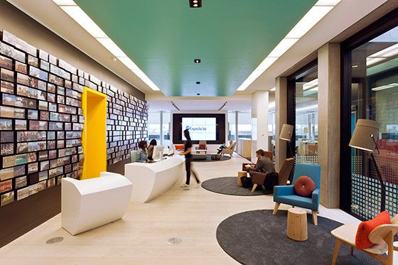 Expedia Workplace Furniture Best Places To Work Interior