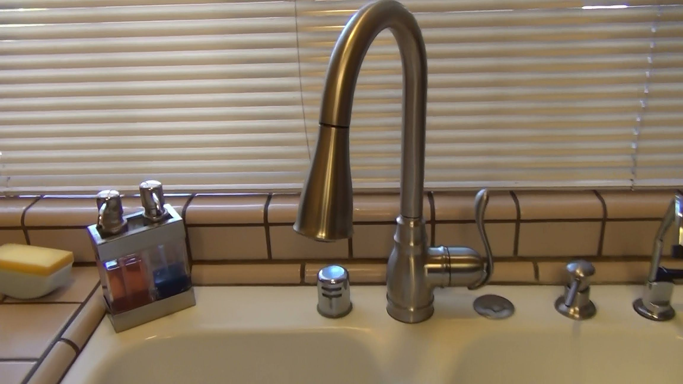 Moen Anabelle Kitchen Faucet Rafael Home Biz Review Youtube