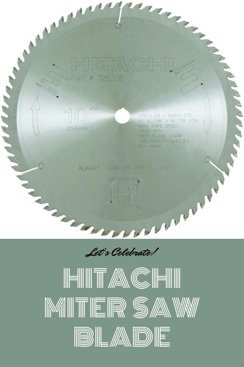 Hitachi Miter Saw Blade In 2020 Miter Saw Table Saw Blades Miter Saw Table