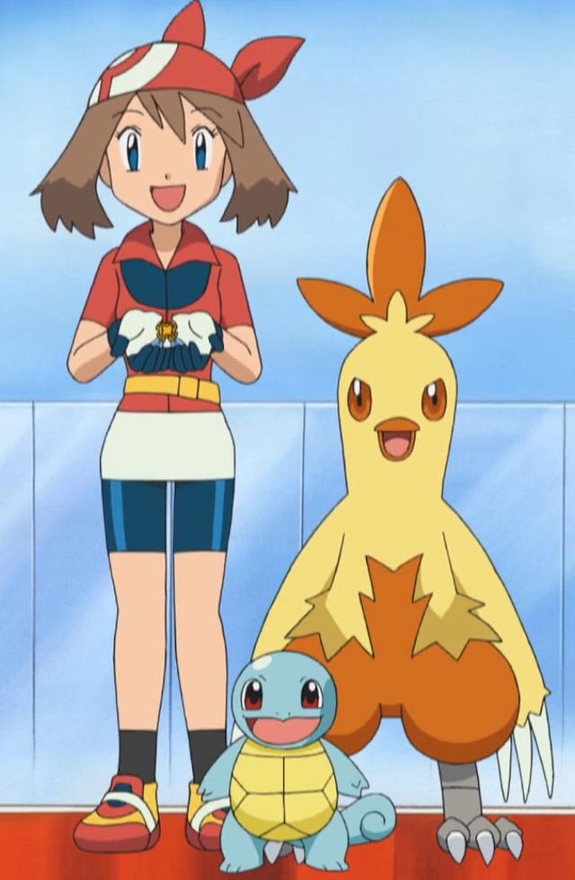 #pokemon #may #haruka #anime #animation #screenshot #japan