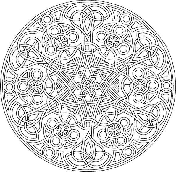 Mandalas Coloring Pictures for Kids is a very beautiful design