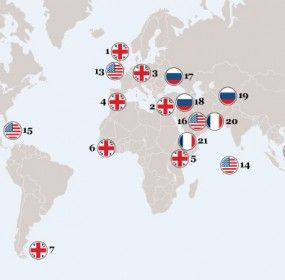 Map Of American Military Bases Around The World.Us Air Force Bases Around The World Army Us Air Force
