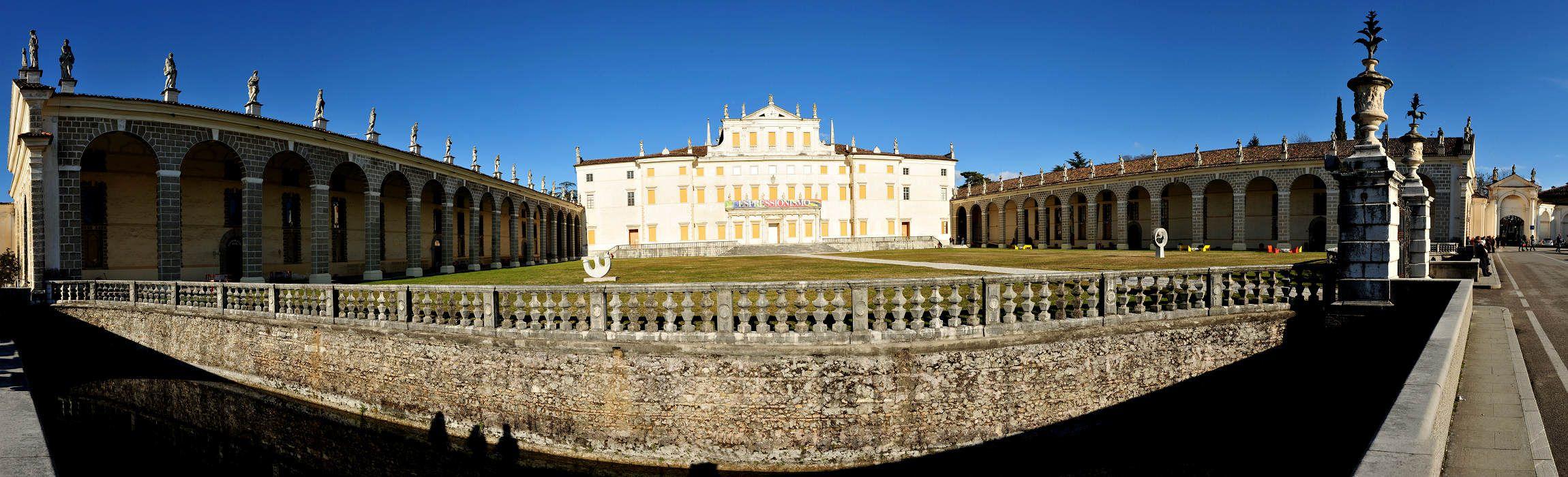 Villa Manin a Passariano di Codroipo Foto panoramiche