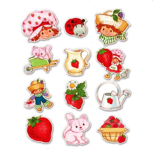 Strawberry shortcake | Ilustraciones | Pinterest | Recuerdos ...