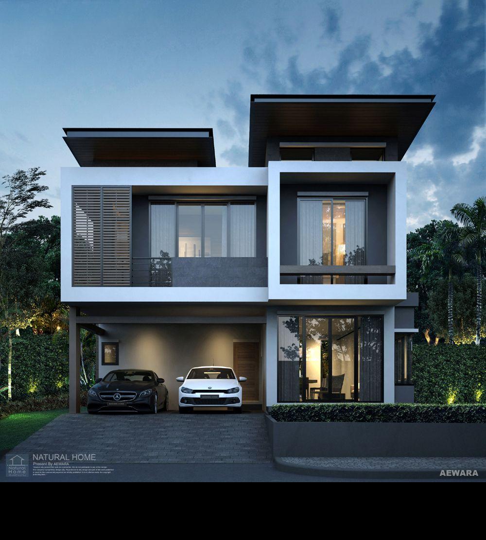 สถาปัตยกรรมบ้าน แบบ