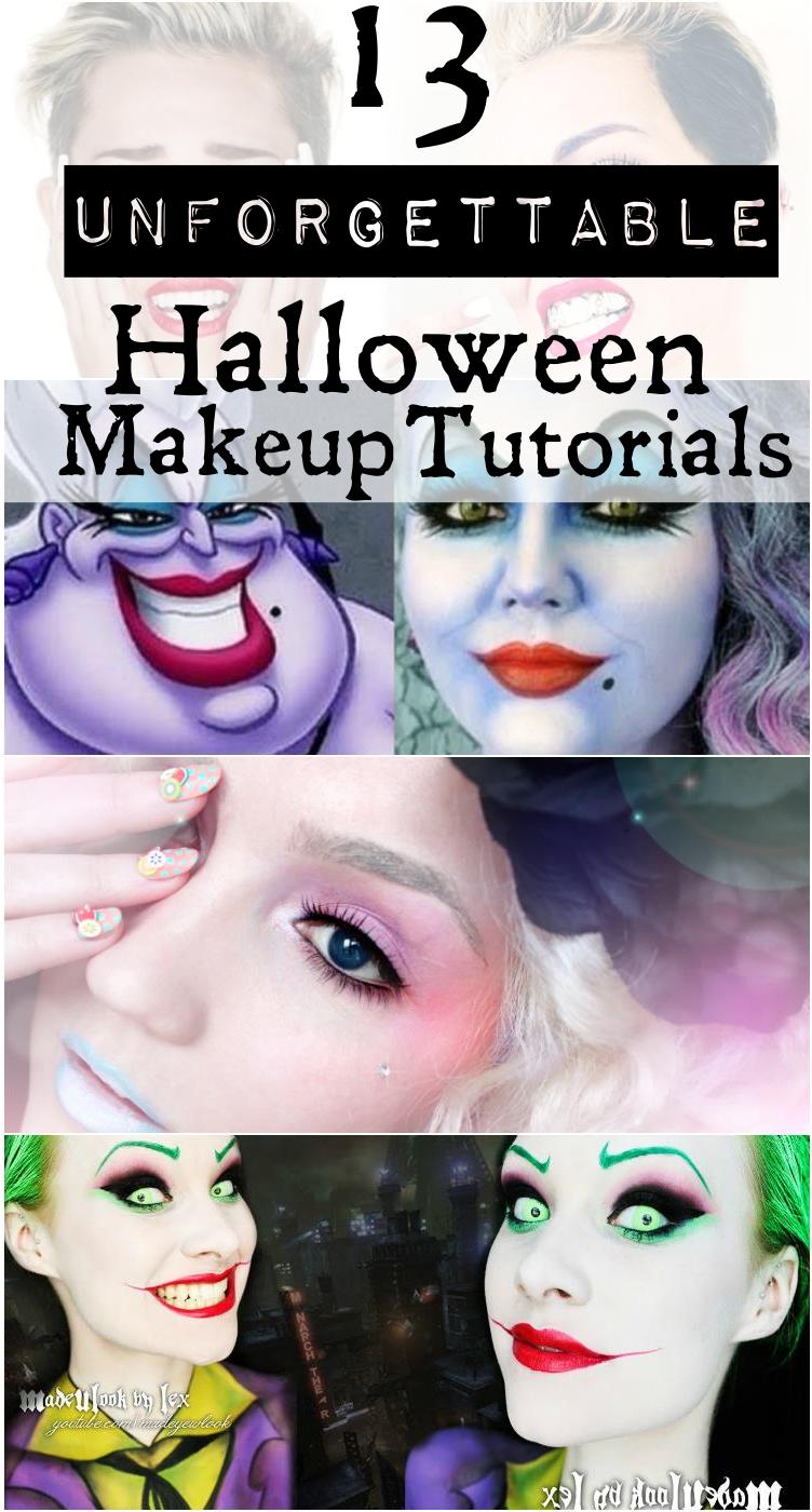 These 13 Creative Costume Makeup Tutorials Are Guaranteed To Turn Heads This Halloween Costume Makeup Tutorial Creative Halloween Makeup Halloween Makeup Tutorial