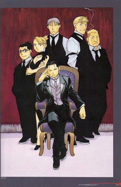 Tags: Anime, Fullmetal Alchemist, Roy Mustang, Jean Havoc, Riza Hawkeye