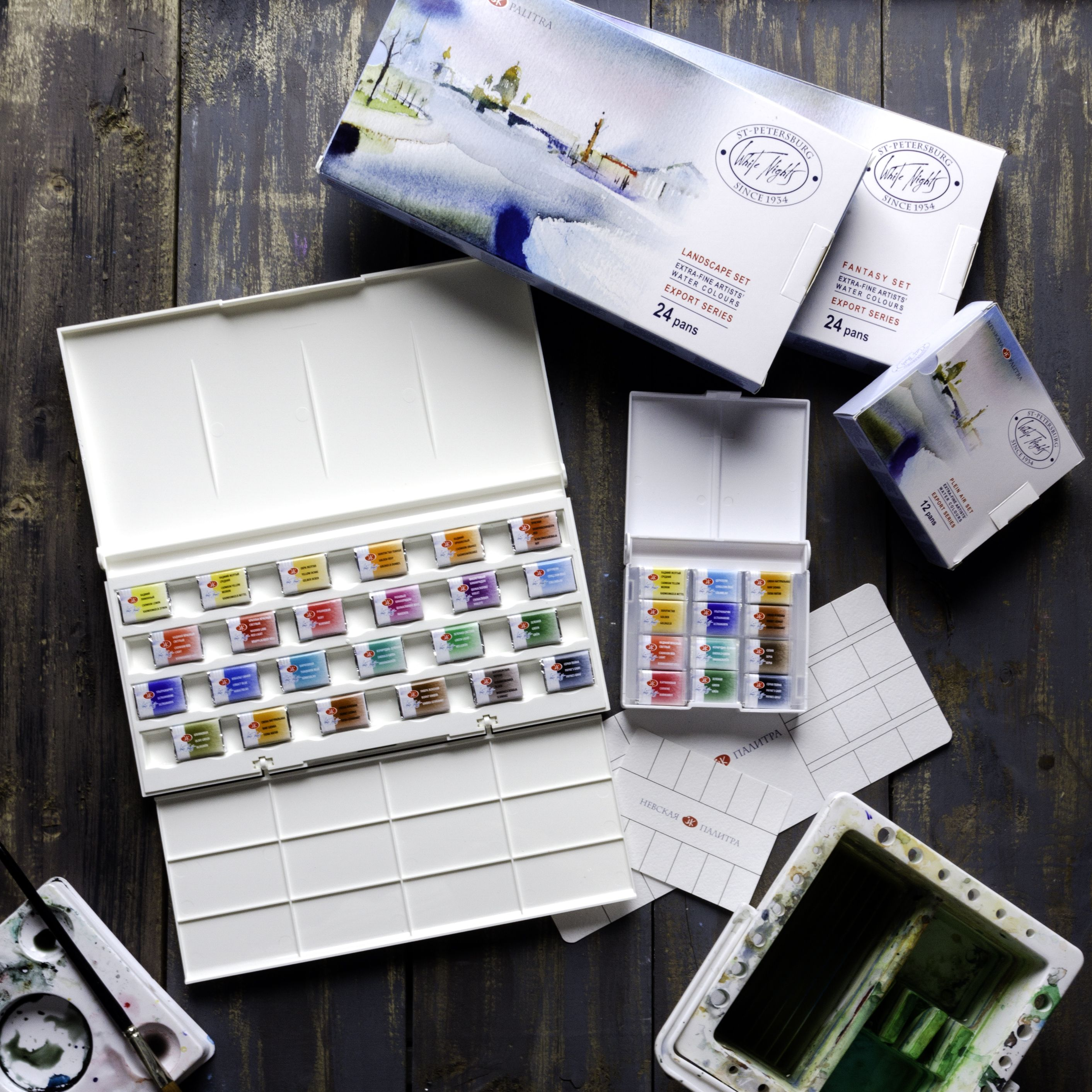 White Nights Watercolour Paints Have Been Produced In Russia By