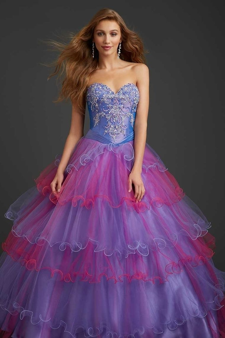 New Arrival Quinceanera Dresses 2014 A Line Sweetheart Floor Length Organza Color As Picture Lace Up Back
