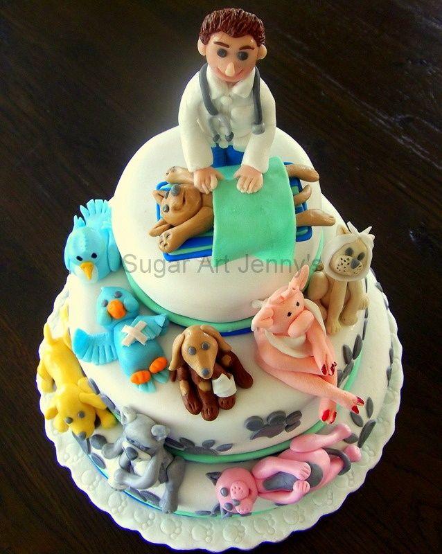 Veterinarian cake YESSSSSSSS For when I graduate from vet