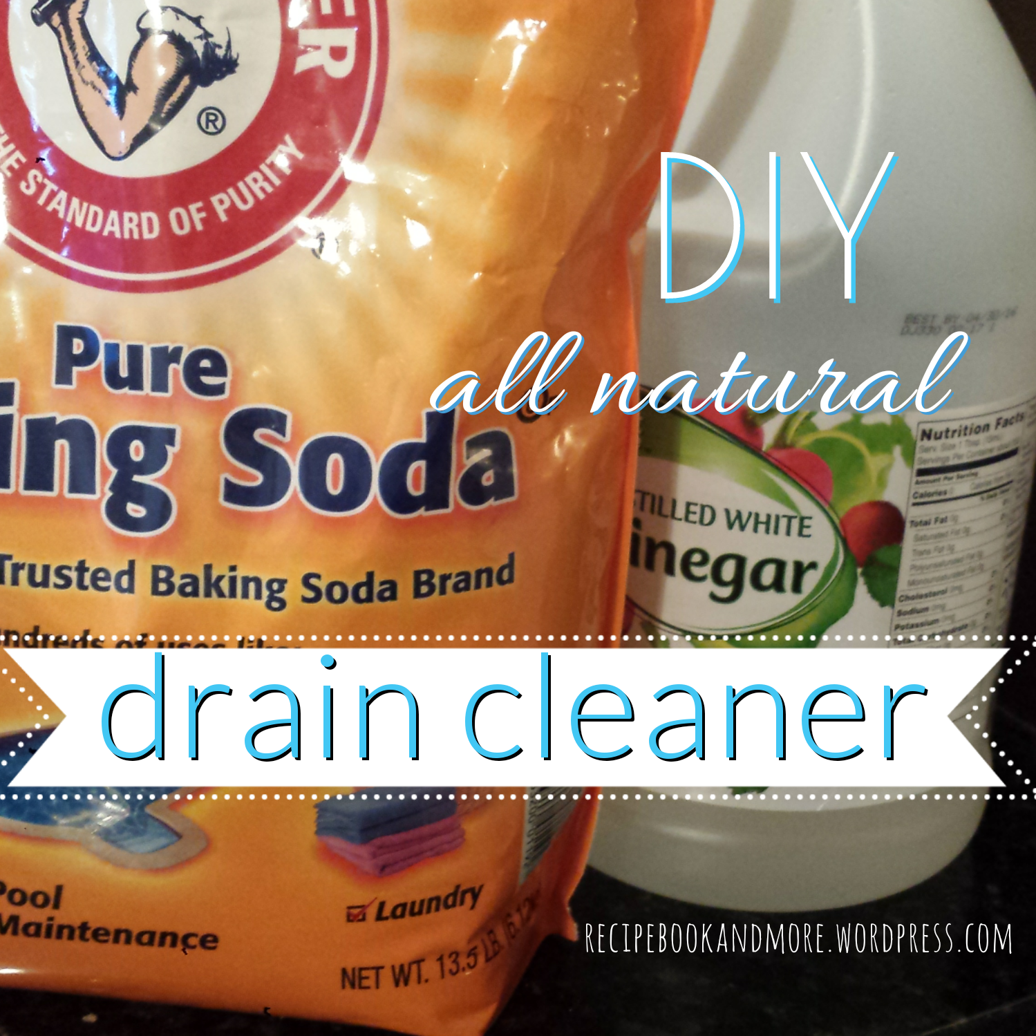 Unclog Your Drain With Just Baking Soda And Vinegar Diy Cleaning Products Cleaning Hacks Cleaning