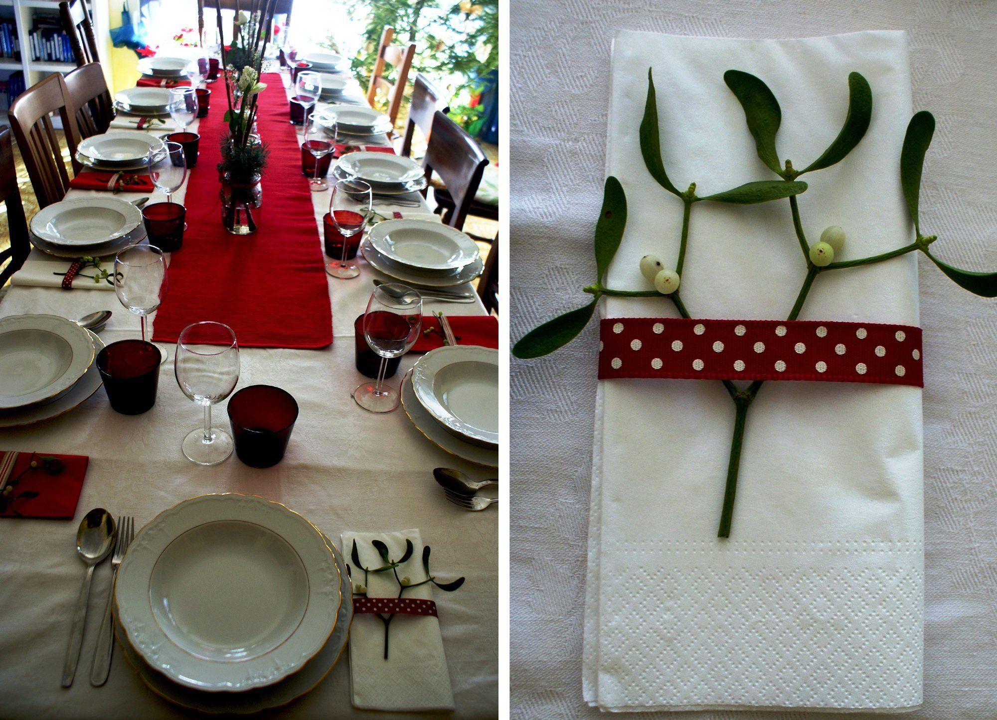 Diy wedding table decorations ideas  Décoration sur serviette de table  Plaisirs de Noël  Pinterest