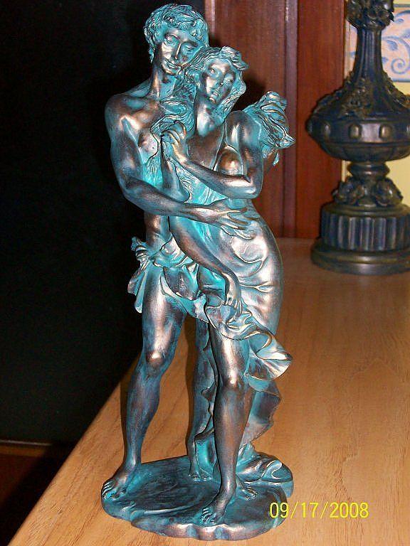El Arte De Imitar Falsos Acabados Pintar Figuras De Yeso Arte En Tela Para Las Paredes Estatuas De Hadas