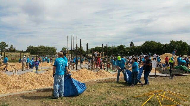 Bryte Park build.