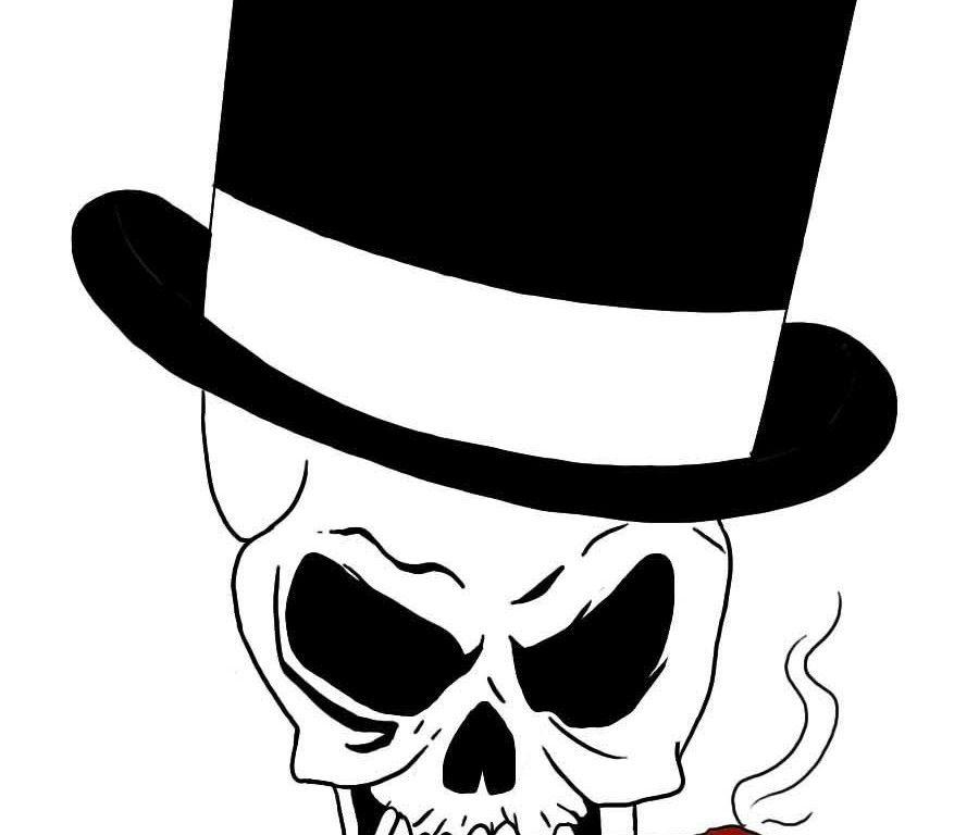 Easy Beginner Skull: Easy Tattoo Skull Head Design - Fashion Style