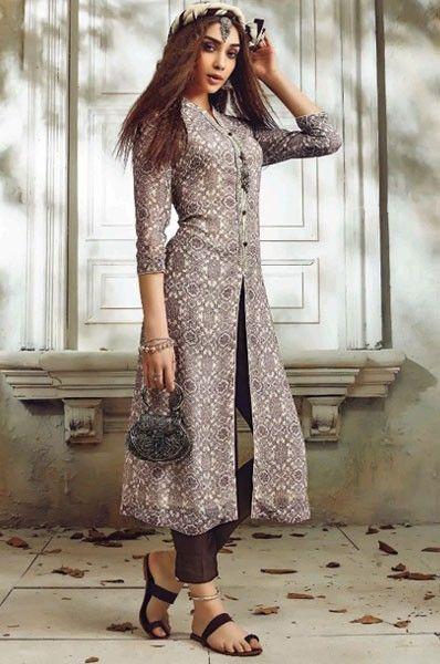 1b29903c3e Designer Embroidered Party Wear Straight Georgette Salwar Kameez ...