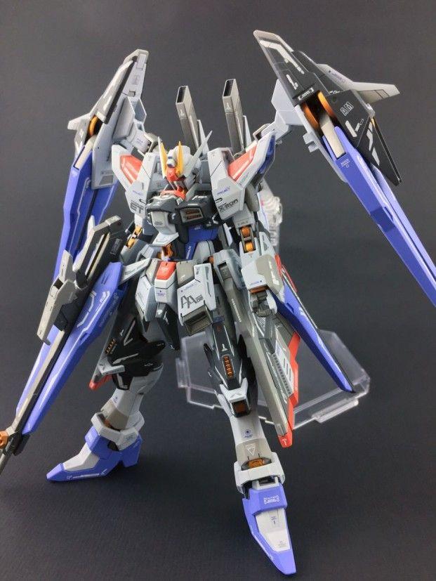Custom Build Hgbf 1144 Amazing Strike Freedom Gundam Gundam Kits