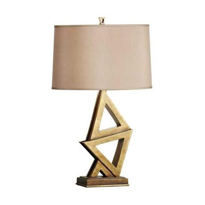 Murray feiss xenia 1 light table lamp in firenze gold