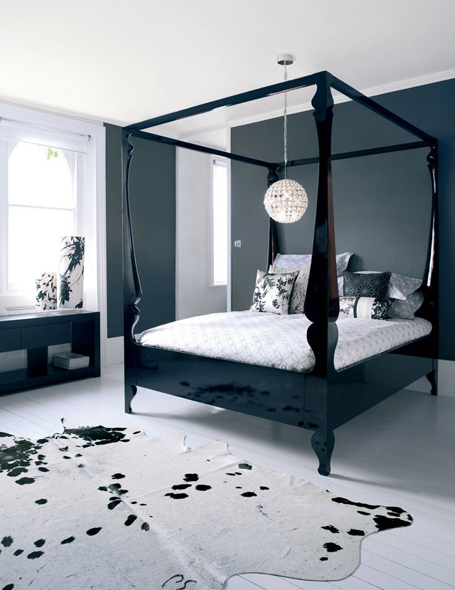 4 Poster Bed Solution Bedroom Design Apartment Room Home Bedroom