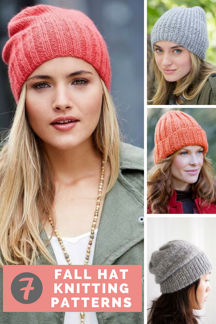 7 Incredible Fall Hat Patterns Knitting Patterns Free Hats