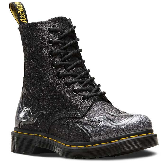 Dr Martens 24034041 Women's 1460 Pascal Flame Pewter