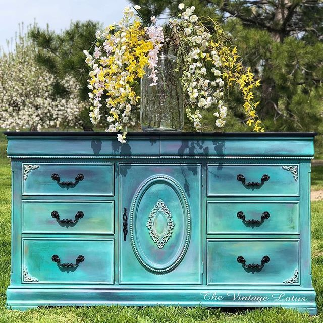How to Blend on a Buffet   Dixie Belle Paint Company ...