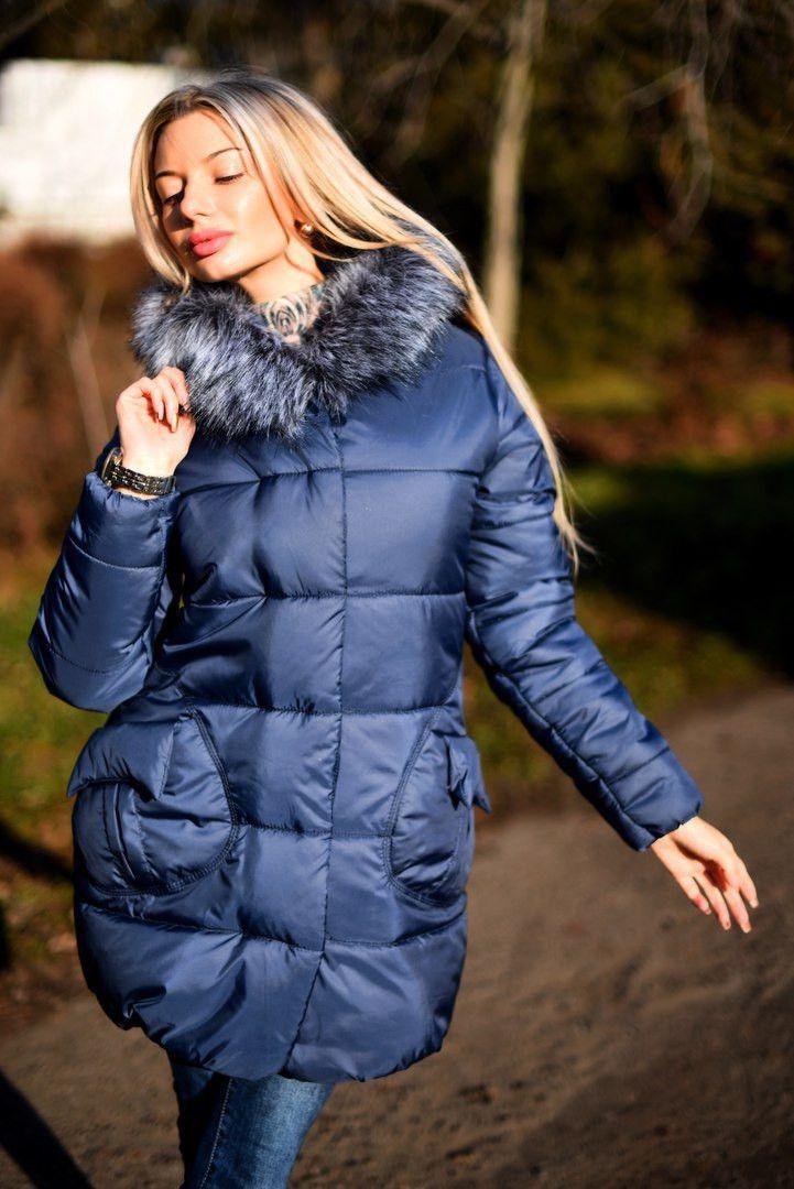 f4d73b990949 Стильная куртка с мехом на капюшоне и накладными карманами  продажа, цена в  Одессе.