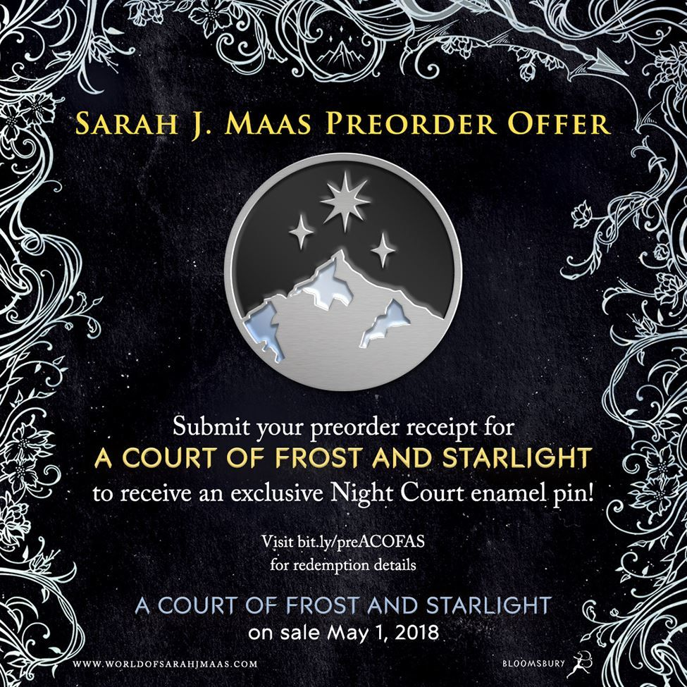 Media Of A Court Of Frost And Starlight Pre Order Offer Sarah