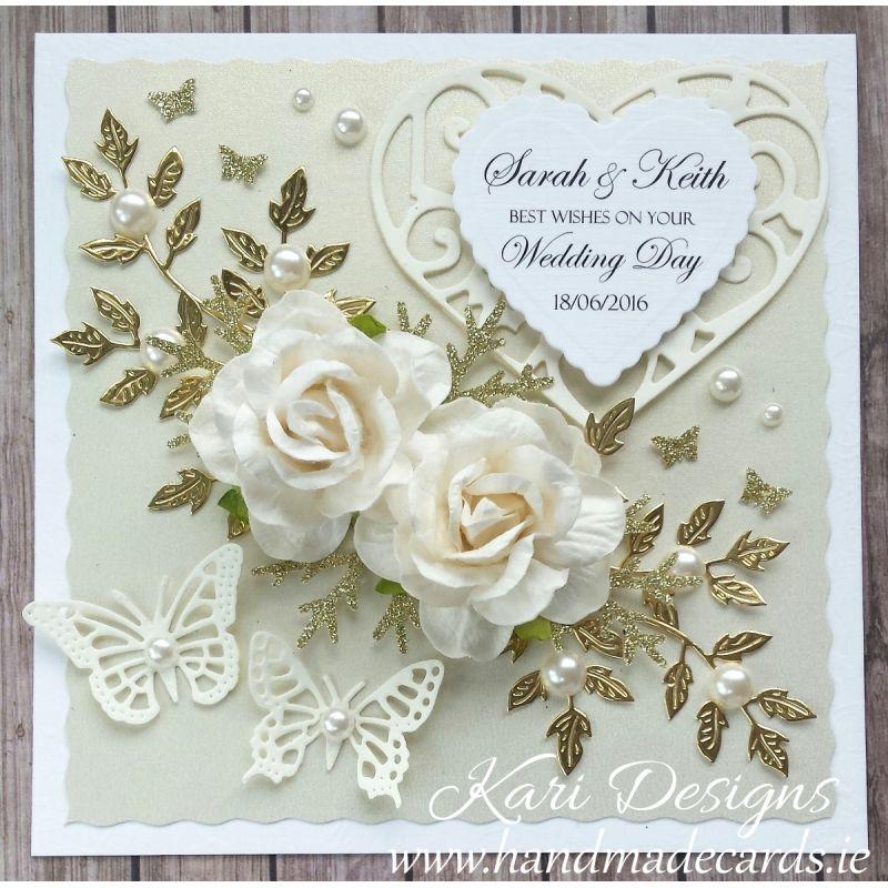 Cards Wedding Cards Gt Kari Designs Handmade Cards Wedding Card Wedding Anniversary Gifts Meanings We Wedding Cards Handmade Wedding Card Diy Wedding Day Cards